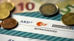 Millionen-Überschuss bei ARD und ZDF