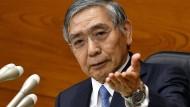 BoJ-Gouverneur Haruhiko Kuroda