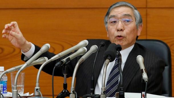 Japans Notenbank will Staatsanleihen mit unbegrenztem Volumen kaufen