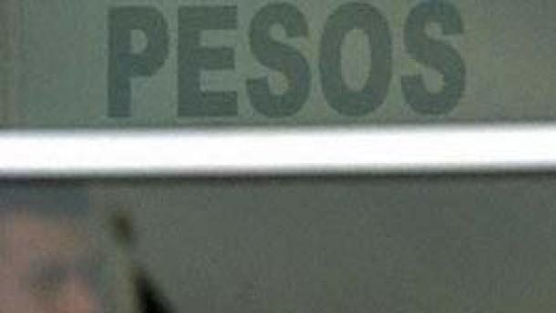 Mexikanischer Peso nimmt Aufwertungstrend wieder auf