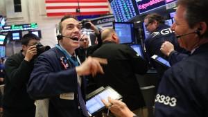 Spürbare Erholung an der Wall Street