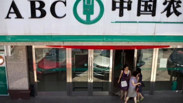 Chinas Bauernbank schafft Rekord-Börsengang