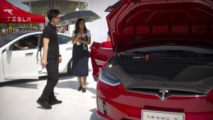 Tesla-Chef bittet Trump um Hilfe gegen China