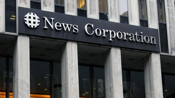 Bei Murdochs News Corp schwinden die Werbeeinnahmen