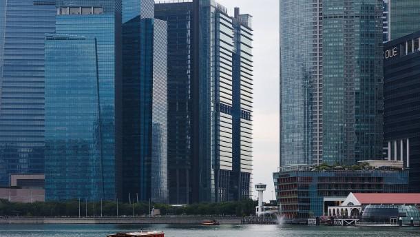 Finanzplatz Singapur profitiert von Weltkonjunktur