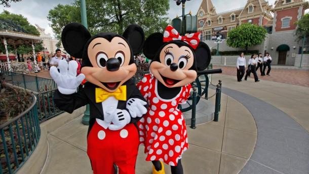 Walt Disney profitiert von Fernsehen und Freizeitparks