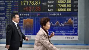 Nikkei gewinnt mehr als 6 Prozent