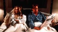"""Trennungsschmerz: Wie kompliziert eine Scheidung werden kann, haben schon Kathleen Turner und Michael Douglas im Film """"Der Rosenkrieg"""" gesehen."""