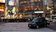 Toyotas neues Japan-Taxi