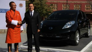 Nissan erobert Bhutan