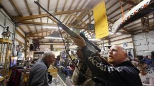Wall Street wettet auf Hamsterkäufe von Schusswaffen