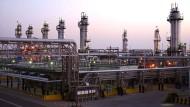 Milliardengeschäft: Ölförderung im Osten Saudi-Arabiens. Doch wie kann das Land möglichst unabhängig vom Öl werden?