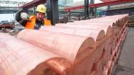 Teuer wie lange nicht mehr: Als Auslöser für den Preisanstieg von Kupfer gelten Produktionskürzungen in China.
