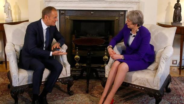 Vor Mays Brexit-Rede: Gereizte Stimmung