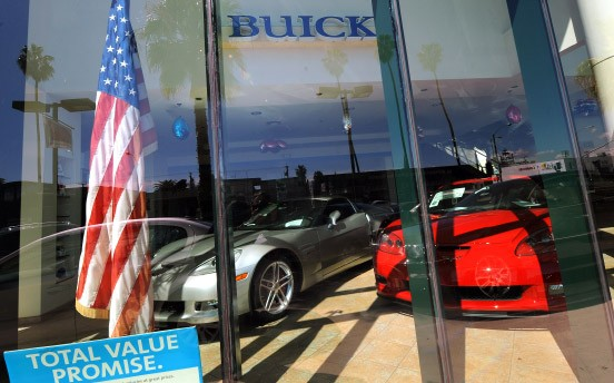 Ladenhüter: Luxusautos in Santa Monica