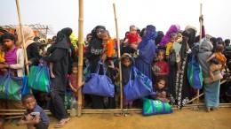 1500 Rohingya-Flüchtlinge sollen pro Woche nach Myanmar zurück