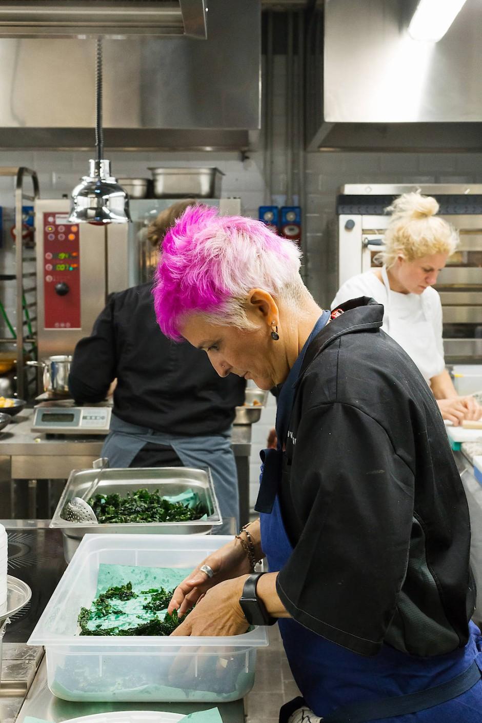 Michelinstern trotz später Kochkarriere: Christina Bowerman