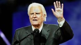 Einflussreicher amerikanischer Pastor Graham gestorben