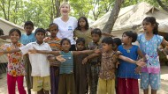 Cate Blanchett besucht Rohingya-Flüchtlingslager