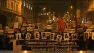 Proteste gegen den Akademikerball