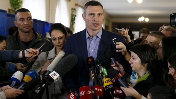 Pannen bei Kommunalwahlen in der Ukraine