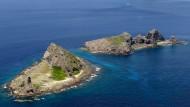 Umstrittene Inseln: Die Japaner nennen sie Senkaku, die Chinesen Diaoyu