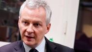 Der französische Finanzminister Bruno Le Maire