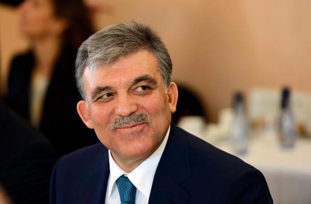 Turkey's President Abdullah Gül visits Swedish Parliament.