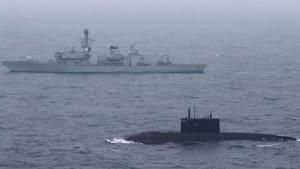 Russische U-Boote kommen der Nato immer näher