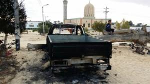 Ägyptens Armee: 16 Extremisten getötet