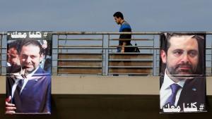 Libanons Präsident geht von Entführung Hariris aus