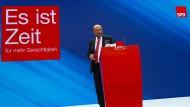 Trauerstimmung in der SPD am Tag danach: Parteichef und Kanzlerkandidat a.D. Martin Schulz im Willy-Brandt-Haus.