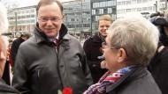 Der SPD-Kandidat Stephan Weil will Ministerpräsident von Niedersachsen werden und setzt auf Rot-Grün.
