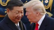 Konflikt mit Pjöngjang: Chinas Staatschef fordert Gespräche mit Nordkorea