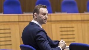 Nawalnyj wirft Russland politisch motivierte Festnahmen vor