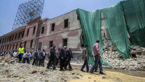 IS breitet sich nach Ägypten aus