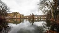 Die gute Stube des Breisgaus: Blick auf den Staufener Stadtsee