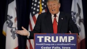 Trump beschwert sich über Langeweile