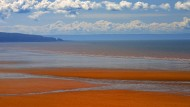 Chignecto Bay in New Brunswick, Kanada