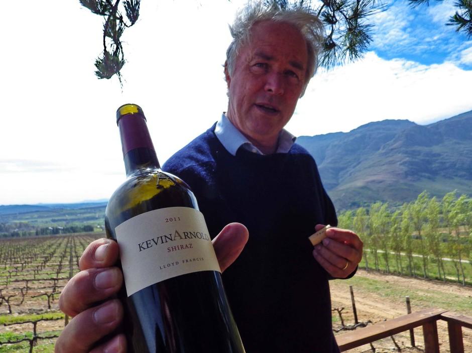 Der Winzer Kevin Arnold macht seit fast zwanzig Jahren Wein im Blaauwklippental.