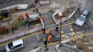 Baugewerbe klagt über schwachen  Wohnungsbau