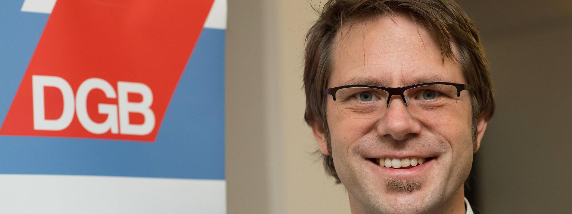 Fortan führt wieder ein Mann den DGB Hessen-Thüringen