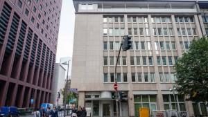 Neues Hochhaus im Bankenviertel