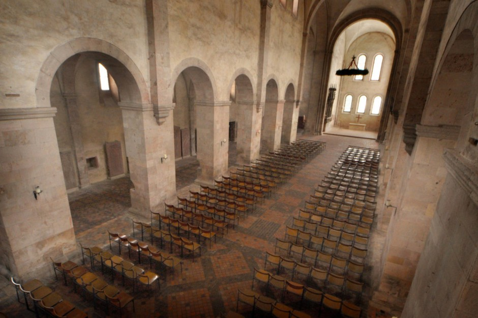 Schon lange kein Gotteshaus mehr: Entweihen kann Dieter Bohlen die Kloster-Basilika jedenfalls nicht.