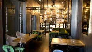 Cheesesteak im Lagerhaus-Design