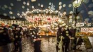 Der Frankfurter Weihnachtsmarkt im Jahr 2015