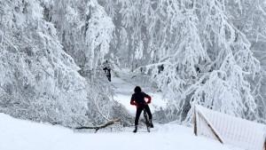 Skilifte laufen in Willingen