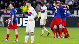 """Olympique Lyon verspielt das Finale """"à la maison"""""""