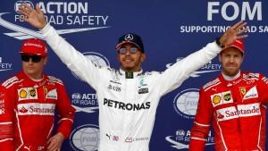 Hamilton gelingt ein Donnerschlag!