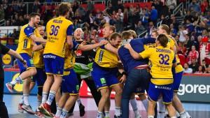 Spanien und Schweden im Finale
